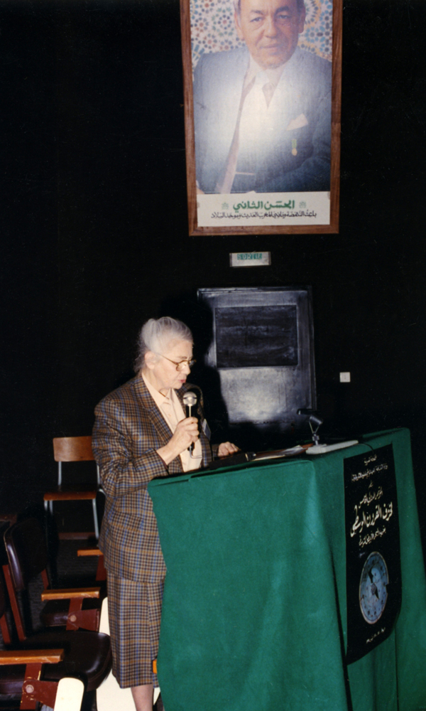 Colloque de Rabat 1991, communication de G. d'Archimbaud